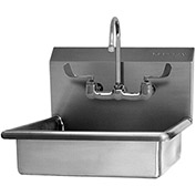 SANI-LAV 608F Wall Mount Sink With Faucet