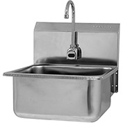 SANI-LAV ESB2-525L Wall Mount Sink With Battery Powered Sensor