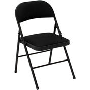 Cosco® Fabric Folding Chair Black 4-Pack