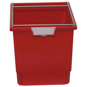 "Certwood Filing Frame with Quad Tote CERT 07-LEGAL PR - Legal File 16-3/4""x12-5/16""x13"" Red"