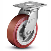 "Colson® 4 Series Swivel Plate Caster 4.05109.929 - Polyurethane on Polyolefin 5"" Dia. 750 Lb."