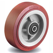 Colson® 2 Series Wheel 5.00005.929 WS - 5 x 2 Polyurethane on Polyolefin 1/2 Roller Bearing