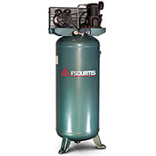 FS-Curtis FCT03C47V6X-A2X1XX, 3HP, Single-Stage Piston Comp., 60 Gal, Vertical, 135 PSI,1-Phase 230V