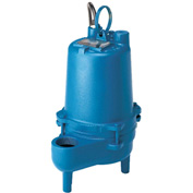 "Barnes 096748, SE411A Submersible Non-Clog Sewage Pump, 3/8 HP, 2"" FNPT Discharge, Mechanical Float"