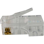 Vertical Cable, 011-016, Cat 5E, RJ45 Modular Plugs, 8P 8C, 50 Micro-Inches Gold Plated