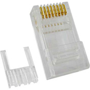 Vertical Cable, 011-018, Cat 6, RJ45 Modular Plugs, 8P 8C, 50 Micro-Inches Gold Plated