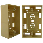 Vertical Cable, 022-119IV, Single Gang Junction Box Ivory
