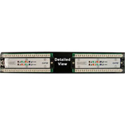 Vertical Cable 041-371/12 Cat 5E 12-Port 110 IDC Patch Panel