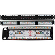 Vertical Cable 042-377/24 Cat 6 24-Port 110 IDC Patch Panel
