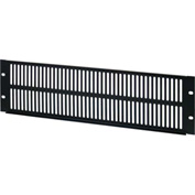 """Vertical Cable 3U Vented Panel Cover/Filler 19"""" Rack Mountable"""