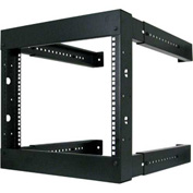 Vertical Cable, 047-WFM-0826, 8U Wall Mount Open Fixed Rack