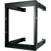 Vertical Cable 047-WFM-1226, 12U Wall Mount Open Fixed Rack