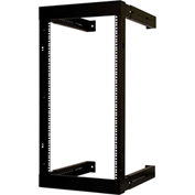 Vertical Cable, 047-WFM-2026, 20U Wall Mount Open Fixed Rack