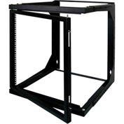 Vertical Cable 047-WSM-1226, 12U Wall Mount Open Swing Out Rack