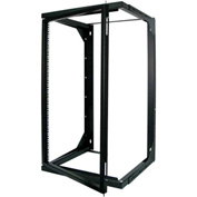 Vertical Cable 047-WSM-2026, 20U Wall Mount Open Swing Out Rack