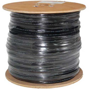 Vertical Cable, 069-560/CMXF, Cat 6 23AWG UTP 4 Pair Flooded 600Mhz Outdoor Rated Black