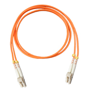Vertical Cable 261-LCLC/3MM, Fiber Optic Patch Multimode 62.5 LC-LC PVC, 9.84 Ft