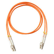 Vertical Cable, 261-LCLC/7MM, Fiber Optic Patch Multimode 62.5 LC-LC PVC, 22.97 Ft