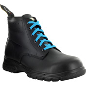 Mellow Walk 425049, Women's Maddy Lace-Up Safety Boot, Black, Size 6.5