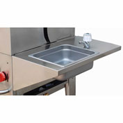 "Crown Verity Stainless Steel Removable Hand Sink 14""W x 23""D - RHS"