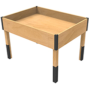 Cayuga TB-DP-9F-411 - PR Dry Grocery Table With ABS Bumper