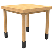Cayuga TB-N-106-GM - Large Nesting Table