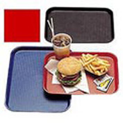 "Cambro 1014FF163 - Tray Fast Food 10"" x 14"",  Red - Pkg Qty 24"
