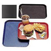 "Cambro 1014FF167 - Tray Fast Food 10"" x 14"",  Brown - Pkg Qty 24"