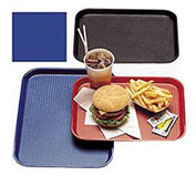 "Cambro 1014FF186 - Tray Fast Food 10"" x 14"",  Navy  Blue - Pkg Qty 24"