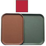 """Cambro 1116510 - Camtray 11"""" x 16"""", Signal Red - Pkg Qty 24"""