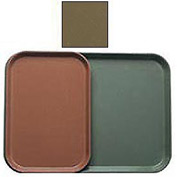 """Cambro 1116513 - Camtray 11"""" x 16"""", Bayleaf Brown - Pkg Qty 24"""