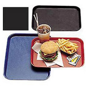 "Cambro 1216FF110 - Tray Fast Food 12"" x 16"",  Black - Pkg Qty 12"