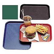 "Cambro 1216FF119 - Tray Fast Food 12"" x 16"",  Sherwood Green - Pkg Qty 12"