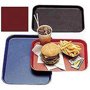 "Cambro 1216FF416 - Tray Fast Food 12"" x 16"",  Cranberry - Pkg Qty 12"