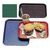 "Cambro 1418FF119 - Tray Fast Food 14"" x 18"",  Sherwood Green - Pkg Qty 12"