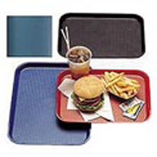 "Cambro 1418FF414 - Tray Fast Food 14"" x 18"",  Teal - Pkg Qty 12"