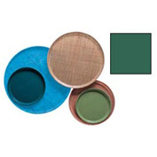 "Cambro 1550119 - Camtray 15.5"" Round Low,  Sherwood Green - Pkg Qty 12"