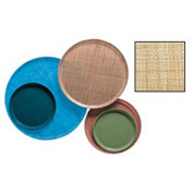"""Cambro 1600204 - Camtray 16"""" Round,  Rattan - Pkg Qty 12"""
