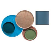 """Cambro 1600414 - Camtray 16"""" Round,  Teal - Pkg Qty 12"""