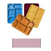 """Cambro 1220D501 - Tray Dietary 12"""" x 20"""", Real Rust - Pkg Qty 12"""
