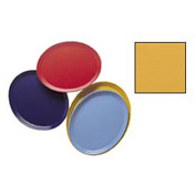 """Cambro 2500171 - Camtray 19"""" x 24"""" Oval,  Tuscan Gold - Pkg Qty 6"""