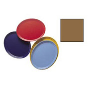 """Cambro 2500508 - Camtray 19"""" x 24"""" Oval,  Suede Brown - Pkg Qty 6"""