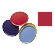 """Cambro 2500521 - Camtray 19"""" x 24"""" Oval,  Cambro Red - Pkg Qty 6"""
