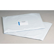 "Self-Seal Polyolefin Mailer, 7-1/2""W x 10-1/2""L, White, 1000 Pack"