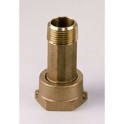 "Dake Couplings 2010A-LF, Lead Free Brass Water Meter Coupling 2"" Tailpiece & Nut Assembly"