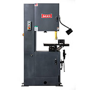"Dake 988070-2 Trademaster 19 1/2"" Throat Vertical Bandsaw, 220-3"