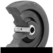 "Darnell-Rose Caster Wheel 503645 Hard Rubber 4"" Dia. 800 Lb. Cap."