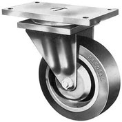 "Darnell-Rose 4500 Series Swivel Plate Caster 709182 Cast Iron 8"" Dia. 5000 Lb. Cap."