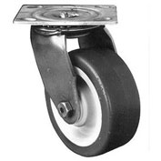 """Darnell-Rose A100 Stainless Series Swivel Plate Caster 710508 Polyurethane 6"""" Dia. 900 Lb. Cap."""