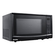 Danby DMW7700BLDB - Microwave Oven 0.7 Cu. Ft., Black, 700 Watts, Touchpad, LED Clock / Timer